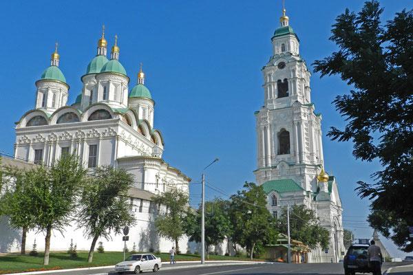 Mariä-Entschlafens-Kathedrale im Kreml von Astrachan