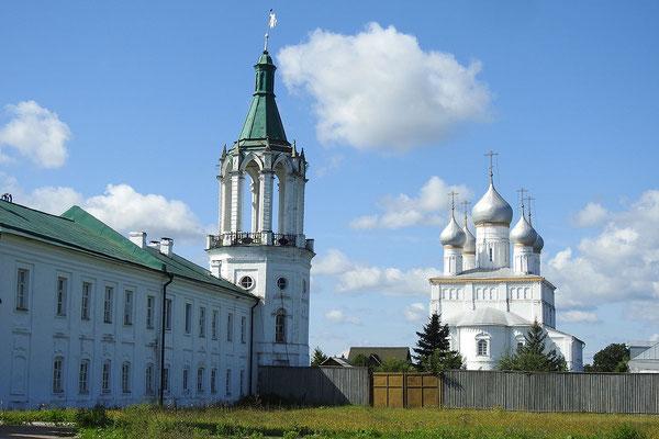 Am Jakowenski-Kloster südlich von Rostow