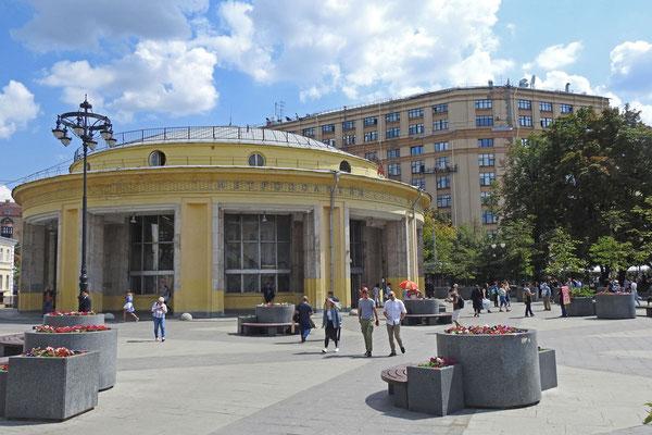 Das ehemalige Funkhaus von Radio Moskau