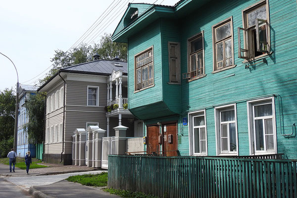 Zahlreiche Holzhäuser wurden in den vergangenen Jahren saniert.