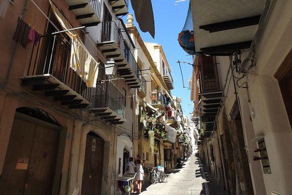 Im historischen Zentrum von Cefalù