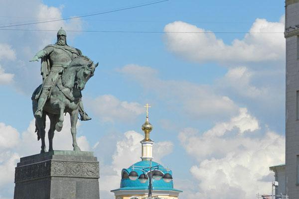 Moskaus Stadtgründer Juri Dolgoruki
