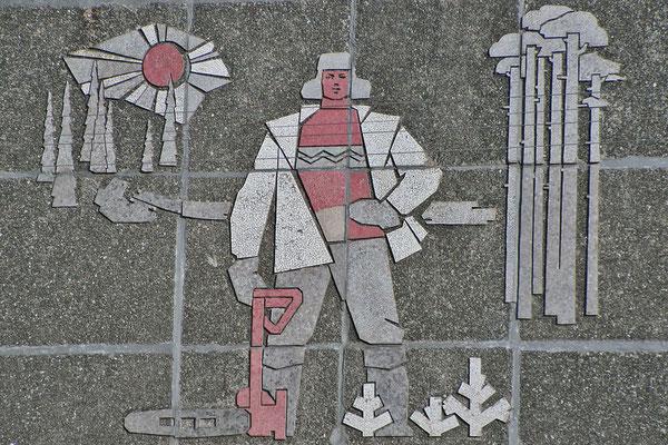 Sozialistische Kunst am Plattenbau
