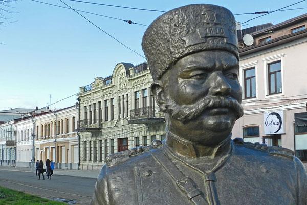 Denkmal für den Wachtmeister von Wladikawkas
