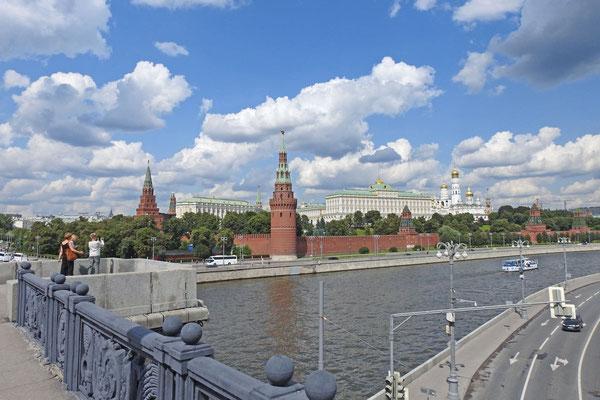 Grandioser Kreml-Blick von der Großen Steinbrücke