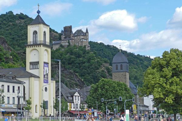 Город Санкт-Гоарсхаузен и замок Катц