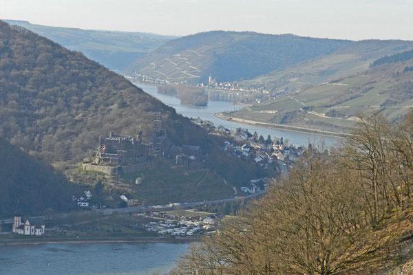 Рейнские замки весной