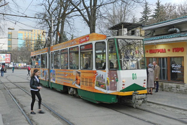 Pjatigorsk hat eines der ältesten Straßenbahn-Netze in ganz Russland.