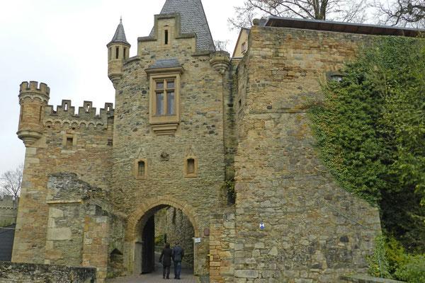 Входные ворота замка Даун