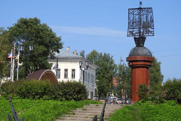 Seefahrer-Denkmal im Ortszentrum