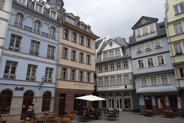 Новый старый город был построен заново несколько лет назад.