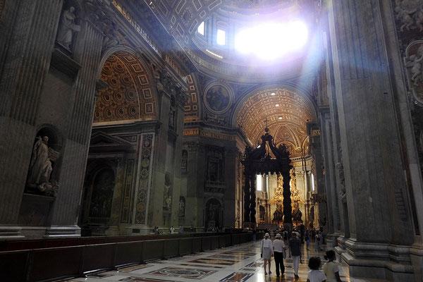 Besuch im Petersdom