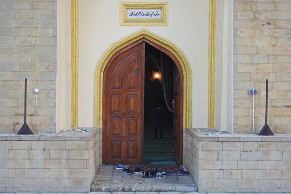 Haupteingang zur ältesten Moschee Russlands