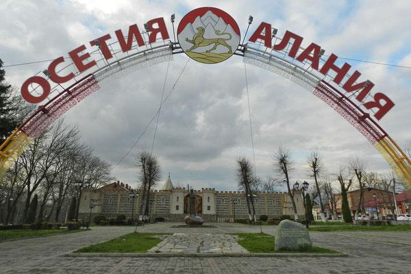 Am Standort der alten Festung Wladikawkas