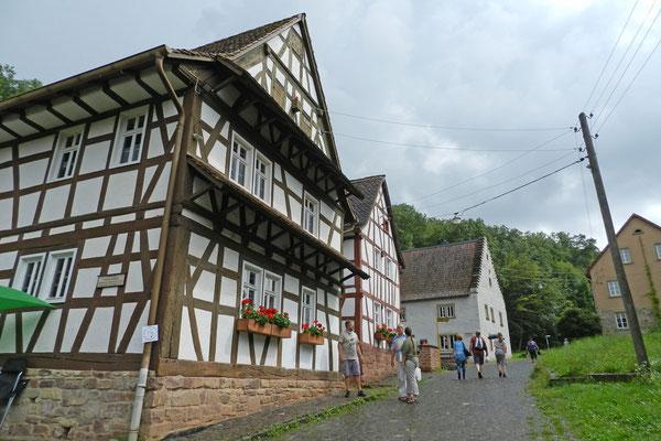 Дома в музее-заповеднике Бад-Зобернхайма
