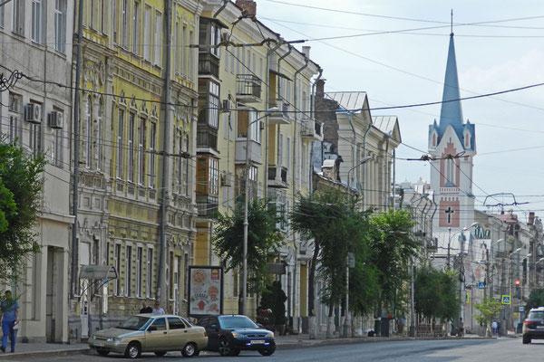 Deutsche evangelische Kirche im Stadtzentrum von Samara