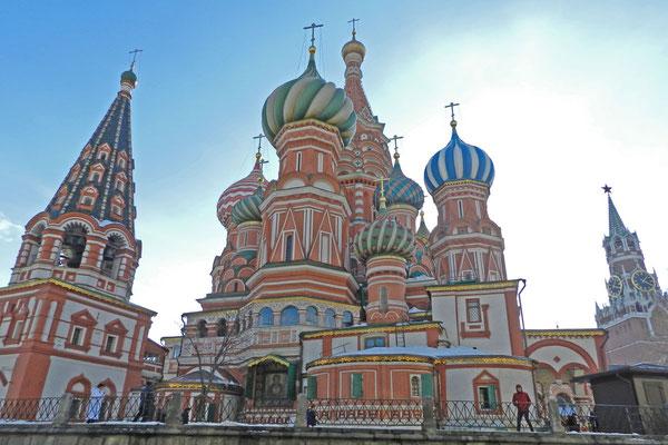 Blick auf die Ostseite der Kathedrale