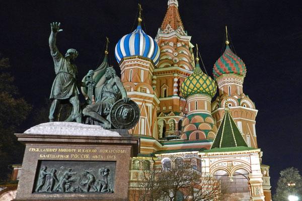 Denkmal für Minin und Poscharski