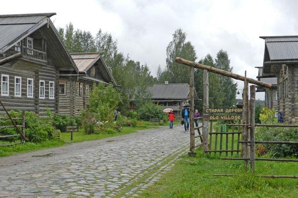 "Im ""alten Dorf"" Werchnije Mandrogi"