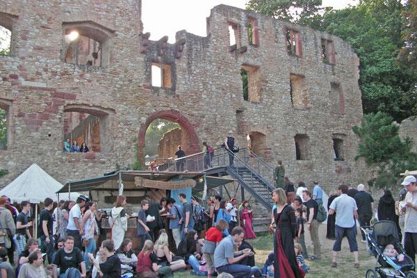 Фестиваль Средневековья в Оппенхайме