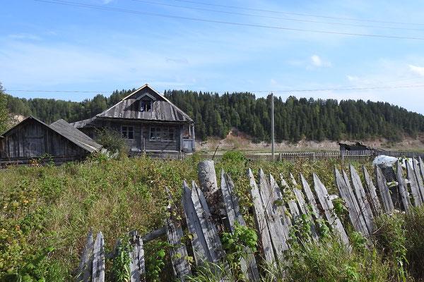Das Dorf Porog hat nur noch eine Handvoll Einwohner
