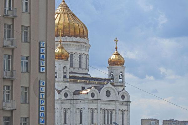 Blick auf die Christerlöser-Kathedrale