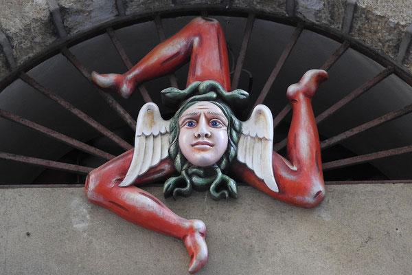 Die Trinacria ist das Symbol Siziliens