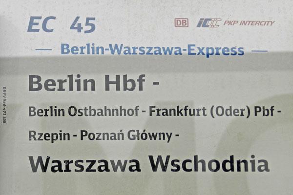 В Германию можно добраться с пересадкой в Варшаве