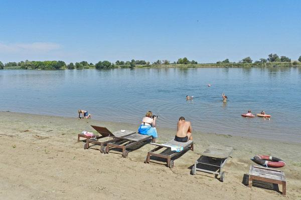 Im Wolgadelta machen vor allem leidenschaftliche Angler Ferien.