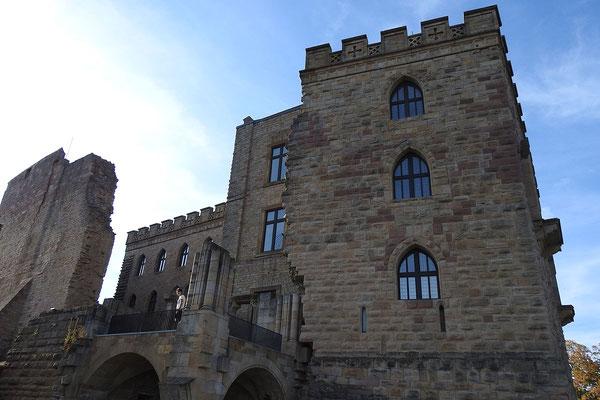 Южная сторона замка