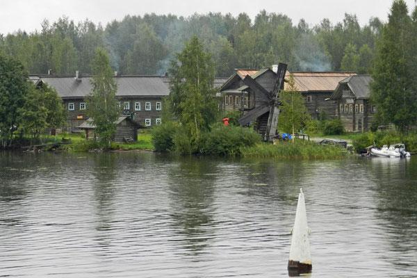 Blick auf Mandrogi vom Swir-Fluss