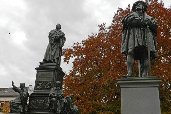 Лютер и его почитатель Филипп I Великодушный