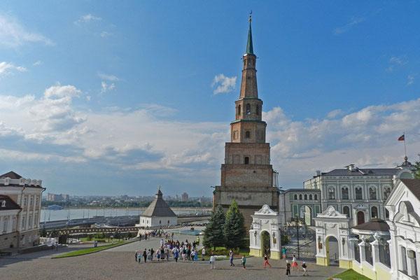 Über den Sjujumbike-Turm ranken sich viele Legenden.