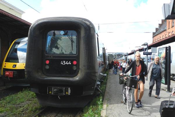 """""""Gumminase"""" der Dänischen Staatsbahn"""