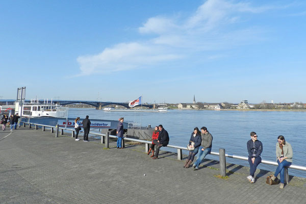 Набережная реки Рейн
