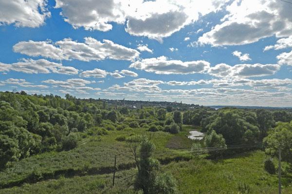 Landschaft südlich von Moskau...