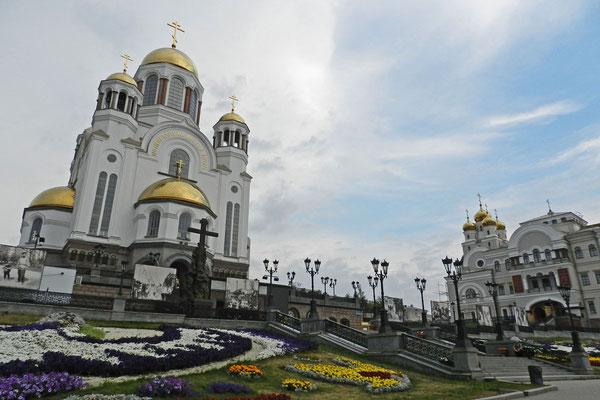 Wo einst die letzte Zarenfamilie ermordet wurde, steht heute eine riesige Kathedrale