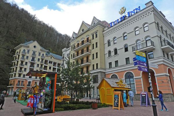 Nobelhotels und Apartments warten auf gutbetuchte Skiläufer