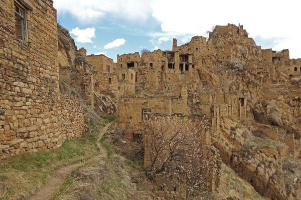 Die Ruinen von Gamsutl