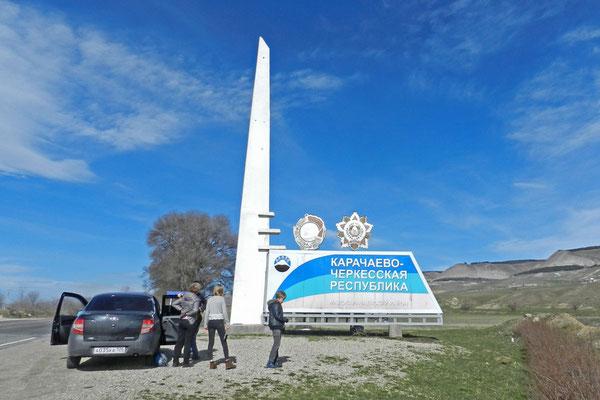 Herzlich willkommen in Karatschai-Tscherkessien