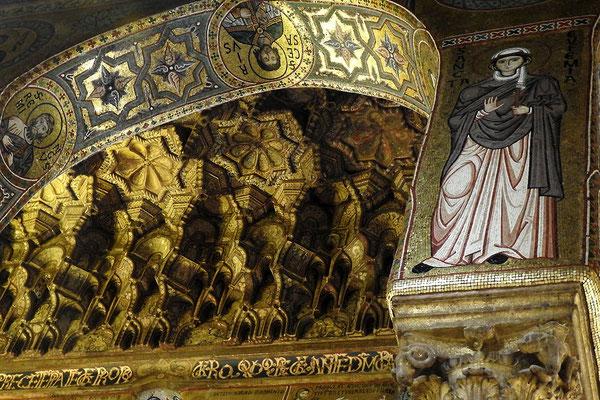 Orientalische Ornamente im Königspalast