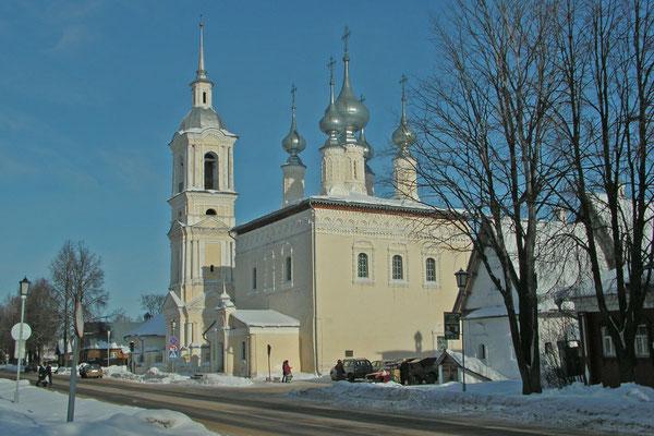 In Susdal gibt es über 50 orthodoxe Kirchen.
