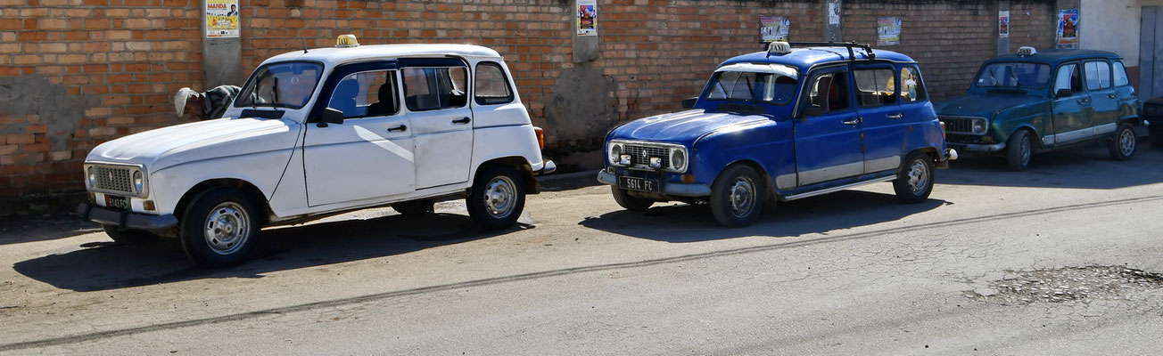 Renault 4 taxi's