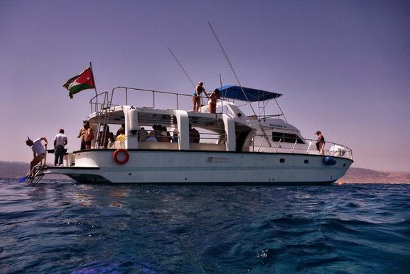 Snorkelen in de Rode zee bij Aqaba