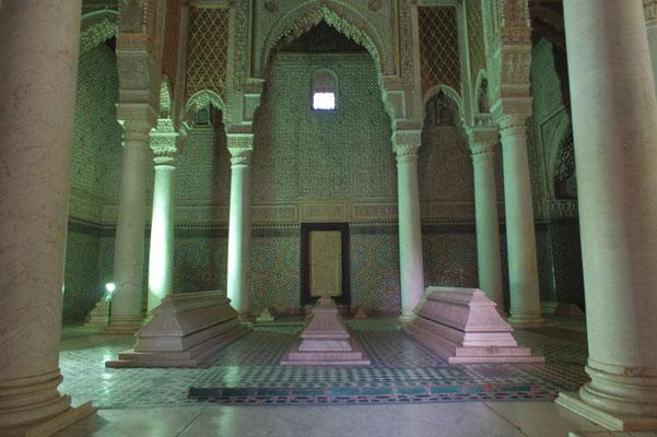 De Saadische graven