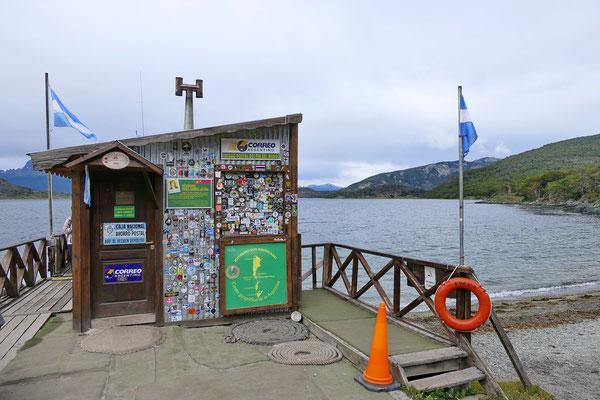 Het zuidelijkste postkantoor ter wereld.