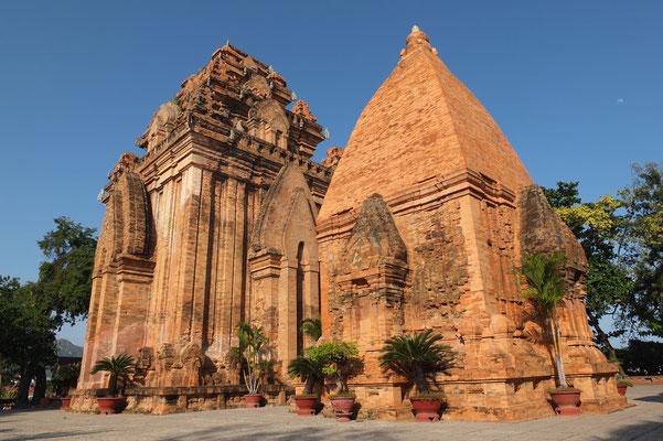 De Po Nagar Cham tempels uit de achste eeuw in Nha Trang