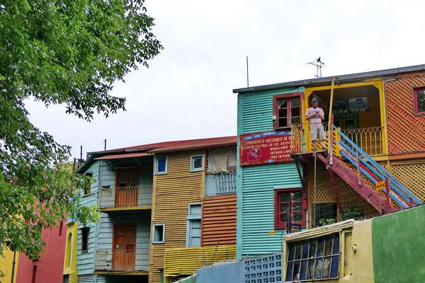 De wijk La Boca