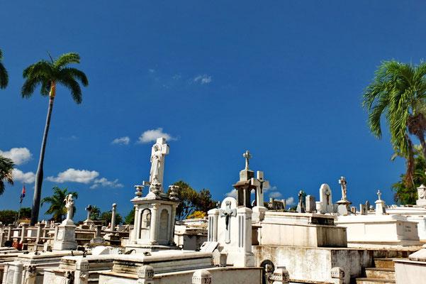 De begraafplaats van Santiago de Cubo