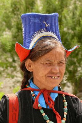 Ladakhi kledingdracht.